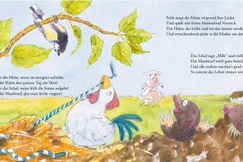 © Texte: Sabine Heinke | Illustrationen: Kathrin Klotzki-Progri